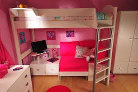 High Sleeper Bed With Desk And Sofa Stompa Casa High Sleeper Sofa Bed With Premium Desk