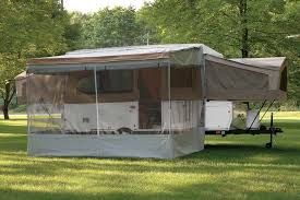 Rv Awning Covers Options U0026 Accessories For Flagstaff Pop Up Trailers Roberts Sales