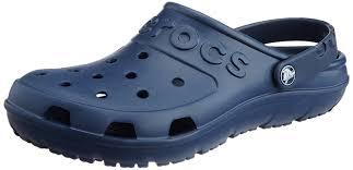 crocs walu loafers crocs women u0027s swiftwater mesh w navy wedge