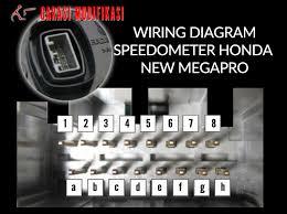 wiring diagram speedometer new megapro u2013 child blog garasi modifikasi