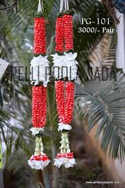 Flower Garland For Indian Wedding Jasminegarland Jg101 Lbnagar Pelli Poola Jada