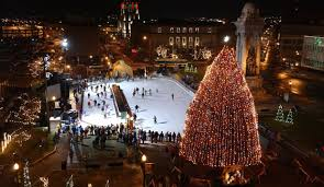 clinton square syracuse new york this is where i ice skate so