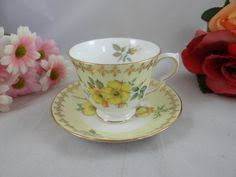 vintage queen anne bone china made in england cup u0026 saucer blue