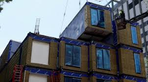 micro apartments watch the construction of nyc u0027s first ever micro apartment complex
