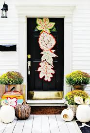 Front Door Decoration Ideas Fall Front Door Decorating Ideas That Will Make You The Star Of