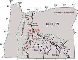 Map Of Central Oregon by Geology Of The Central Oregon Cascades U2013 In The Playground Of Giants