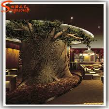 plastic tree trunk for indoor props large artificial decorative