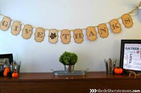 how to make a gorgeous thanksgiving banner