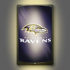 nfl motion activated light up decals baltimore ravens all star sports collectibles autographed sports