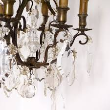 Antique Crystal Chandelier Antique Crystal French Bronze Chandelier Omero Home