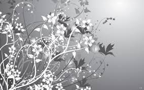 100 Best Gray U0026 White by Gray And White Flower Wallpaper Wallpapersafari