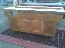 Woodworking Bench Vice Uk by Old Woodwork Bench For Sale Sally Hartman Blog