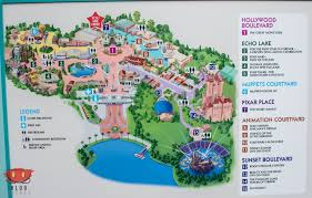 Universal Orlando Maps by New In Park Maps At Hollywood Studios Blog Mickey