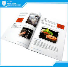 full color experienced cheap cook book printing company buy cook
