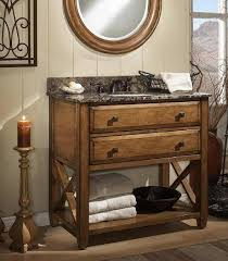 Rustic Bath Vanities Rustic Bathroom Vanities For A Casual Country Style Bathroom