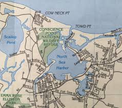 Map Of The Hamptons Painting The Hamptons Conscience Point