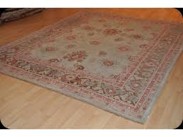 Turquoise Brown Rug Turquoise Color Handmade Persian Mahal Rug Antique Washed 8 U0027 X 10