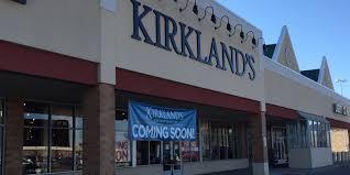 kirkland u0027s to open in frandor on saturday