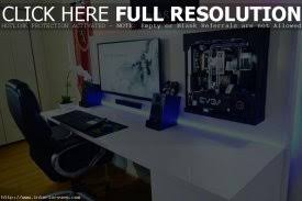 how to build a gaming desk gaming setup desk 6 how to build the best desk setup for gaming