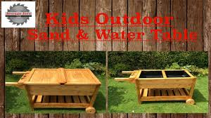 amazing outdoor sand and water table with kids outdoor sand water