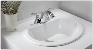 kohler bryant bathroom sink kohler k 2699 4 0 bryant oval self rimming bathroom sink with 4 inch