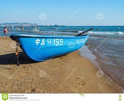 russian beaches rescue boat on the russian coast of the black sea editorial stock