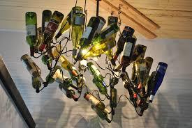 Diy Glass Chandelier Chandelier Chandelier Shades Wine Glass Chandelier Diy Bottle