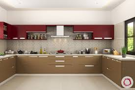 modular kitchen furniture modular kitchen trends contrasting cabinets interior design ideas