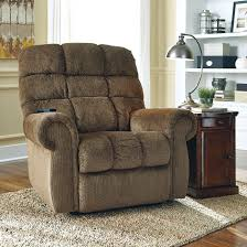 Ashley Recliners Signature Design By Ashley Ernestine Power Lift Recliner In