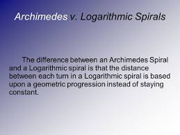 what is the differnece between a spiral and regular perm logarithmic spiral by graham steinke stephanie kline ppt download