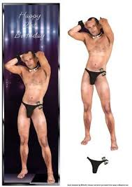 male stripper 21st birthday large dl card cup350458 376