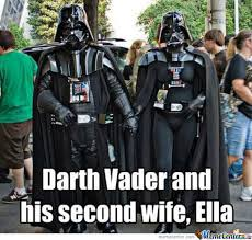 Meme Darth Vader - darth vader second wife by marcus maa meme center