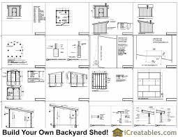 Free Barn Plans 12x12 Horse Barn Plans One Stall Horse Barn Plans
