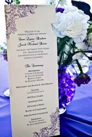 Inexpensive Wedding Programs Simple Easy Inexpensive Programs That Can Be Done On A Home