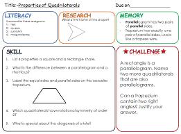 shape mathematics pret homeworks