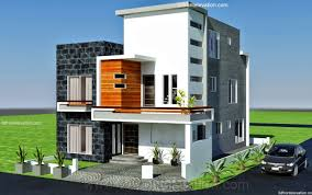 Home Designing Ideas by 10 Marla Modern Architecture House Plan Corner Plot Home Design