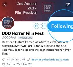 halloween city port huron ddd horror film fest dddfest twitter