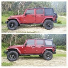 2012 jeep wrangler leveling kit before and after level 2007 jku