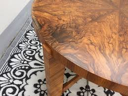 Art Deco Dining Room Table by Round Art Deco Dining Table For Sale At Pamono