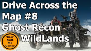 The Ghost Map Drive Across The Map 8 Ghost Recon Wildlands Timelapse Video