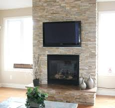 fireplace chic ideas reface brick refacing contemporary remodel