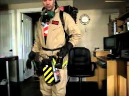 Ghostbusters Halloween Costume Homemade Ghostbusters Costume
