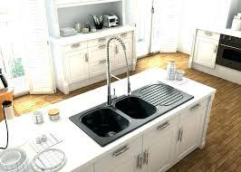 egouttoir cuisine evier resine noir 2 bacs evier blanco modex m 60 coverflow evier