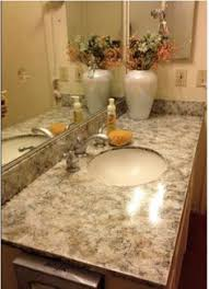 Painting Bathroom Countertops My Enroute Life Painted Faux Granite Countertops Master Bathroom