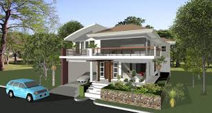 Brilliant Modern Architecture Design Plans House Plan With Three - Architecture home designs