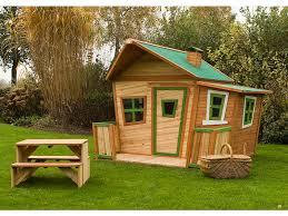 maisonnette de jardin enfant cabane enfant bois 1 80x 1 80 x 1 67 m 39718