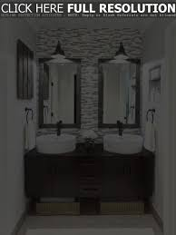 Framed Bathroom Mirrors by Double Framed Bathroom Mirrors With Sconces Stylish Framed