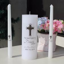communion candles personalized baptism candle unity set stickers vinyl decal