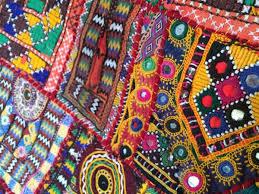Indian Art Tribal Wall Hangings Sari Quilts - Indian wall hanging designs