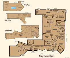 Bar Floor Plans by Floor Plans Nugget Casino Resort Sparks Nevada